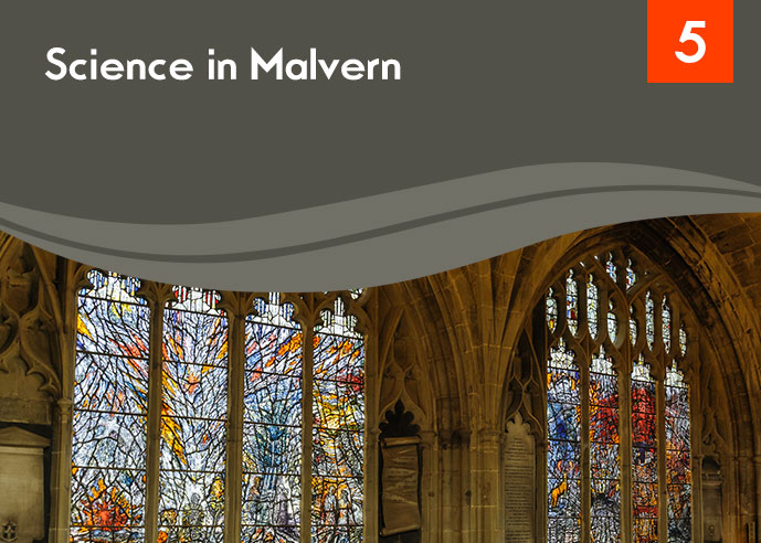 Cover detail of the Science in Malvern resource PDF
