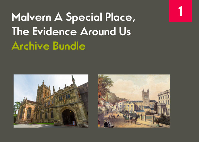 Front cover of theme one Archive Bundle showing thumbnails of architectural photos